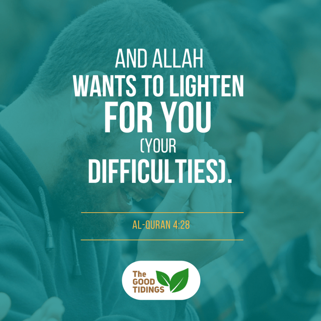 When you face a lot of hardships being a revert, keep on praying to Allah.