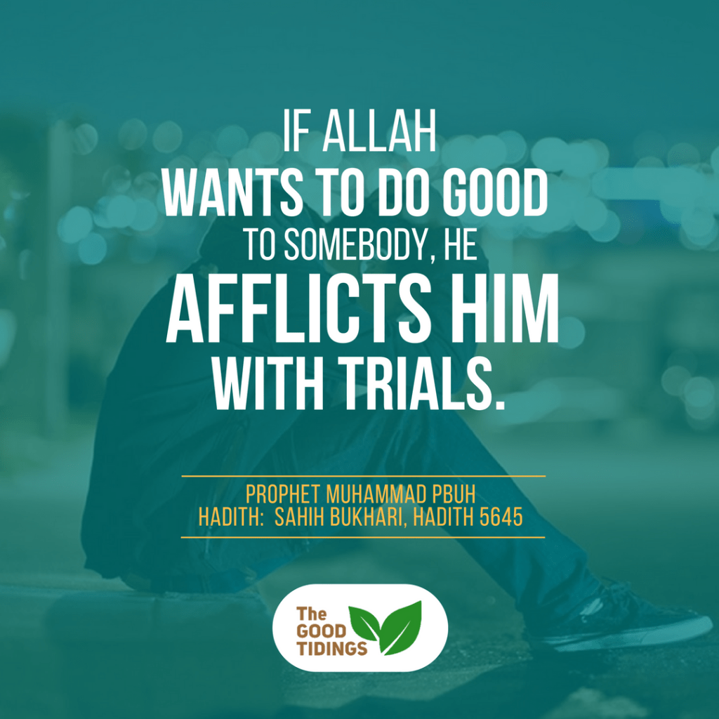 Feeling doubt with the trials faced after embracing Islam?