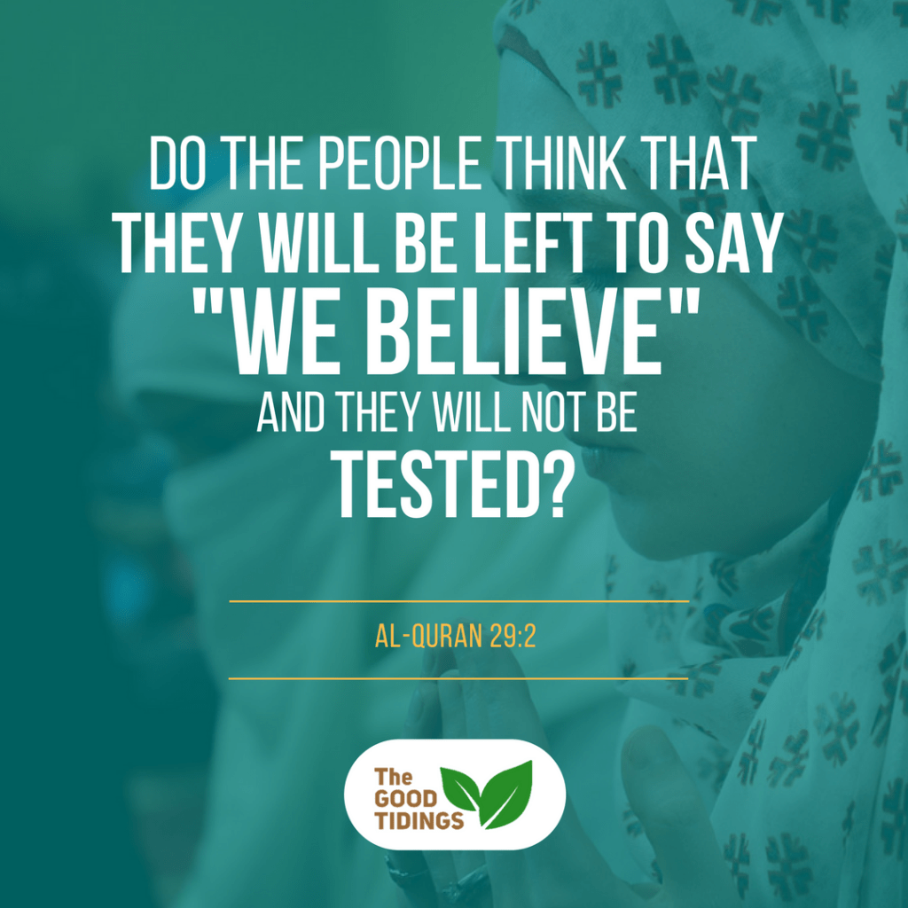 All of the trials we face, being a new Muslim, is none other than to strengthen our faith. In return, our perseverance will surely be rewarded.