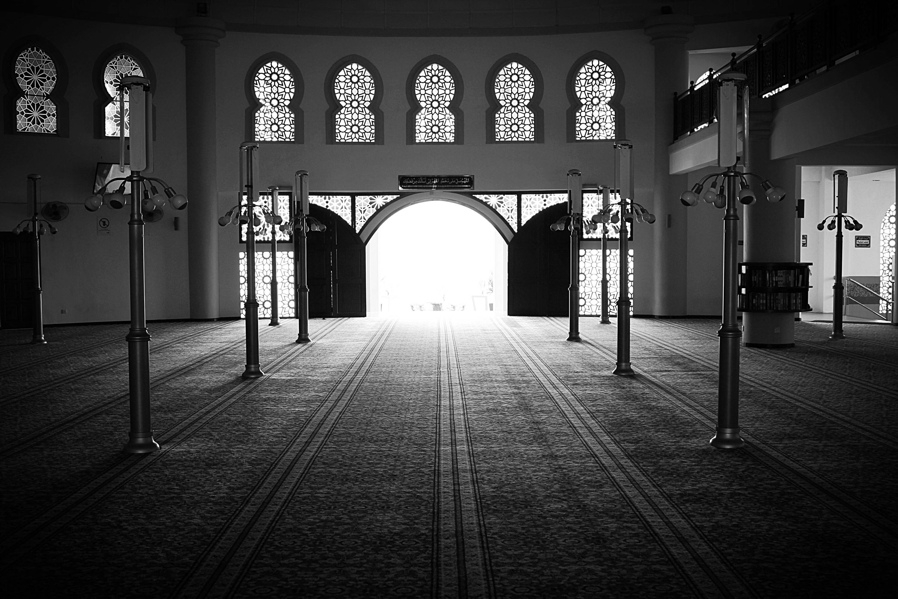 Isn't it sad if someday, they have no interest to come to the mosque anymore, despite the wide-opened door?
